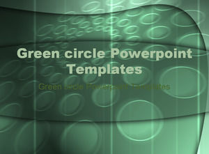 Green circle Powerpoint Templates