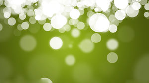 Green Halo Aesthetic PPT background picture (a)