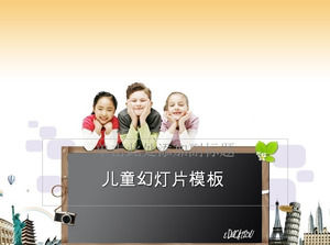 Happy learning - Children's Day ppt template