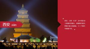 Historical city Xi'an introduction profile PPT