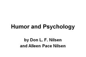 Humor And Psychology