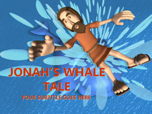 Jonah the Whale - religion PPT templates
