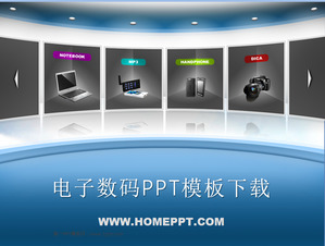 Korean Digital PowerPoint Template Download