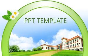 Korean school ppt template powerpoint templates free download korean school ppt template toneelgroepblik Images