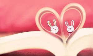 Love flip PPT background image