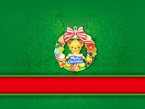 Merry Christmas Christmas Ppt Background Image Powerpoint Templates