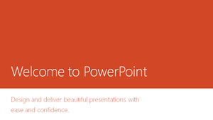 Microsoft PowerPoint 2013 official widescreen ppt template