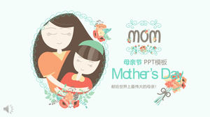 Mother's Day Great Mother Love PPT Template
