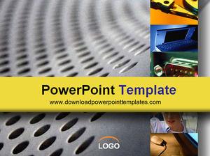 network dark Powerpoint Templates