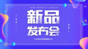 Template Ppt Promosi Peluncuran Produk Baru Powerpoint Template Free Download