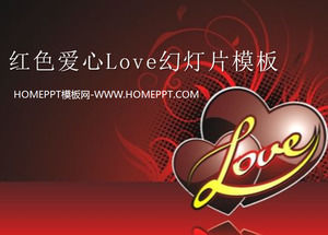 Red crystal love background valentines day slide template download red crystal love background valentines day slide template download toneelgroepblik Image collections