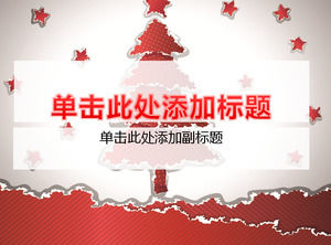 Red Pine Background Christmas Christmas Template