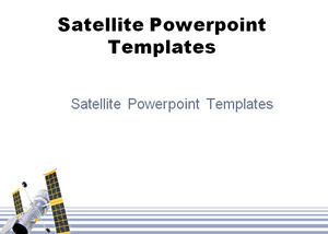 Modèles Powerpoint Satellite Powerpoint Templates