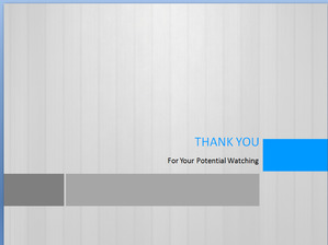 Simple and simple gray win8 style business PPT template free download