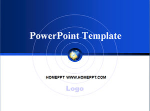 simple earth technology ppt template powerpoint templates free download