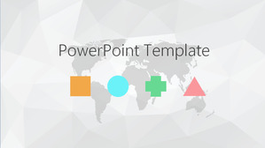 Free abstract powerpoint templates simple gray polygon background elegant ppt template elegant ppt template download toneelgroepblik Gallery