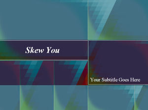skew you Powerpoint Templates