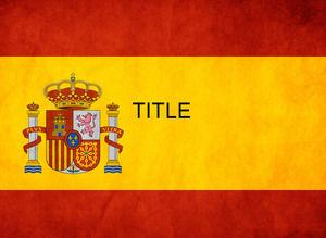Spain Flag in PowerPoint