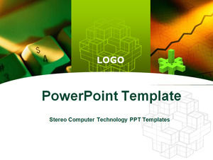 Stereo Computer Technology PPT Templates
