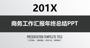 Texture gray background company team project summary report ppt template