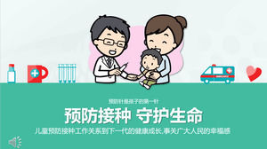 Modello PPT vaccino
