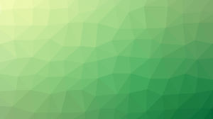 Vibrant green polygon PPT background image