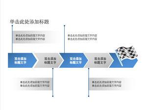 Langkah Kerja Bagan Alur Bahan Template Ppt Powerpoint Template Free Download
